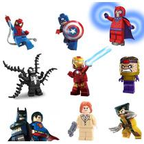8 Minifigures A Escolher Lego Compatível Super Heroes Bkbfg8