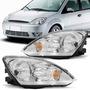 Farol Fiesta Hatch Sedan 2003 2004 2005 2006 2007