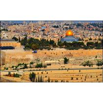 Jerusalém Gravura Para Quadro 60cmx100cm Decorar Muro Israel