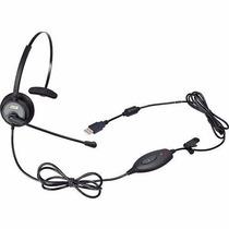 Headset Usb Voip C/ Cancelador De Ruído Mod. Dh-60 - Zox