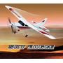 Avião Cessna Sky Eagles Rádio Controle Aeromodelismo.