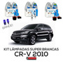 Kit Lâmpadas Super Brancas Tech One Honda Cr-v 2010