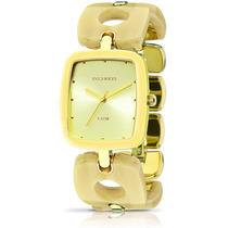 Relógio Technos Feminino Fashion Unique 2035ltg/4d Dourado