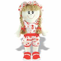 Pelúcia Boneca Aninha - Boneca De Pano - Soft Toys