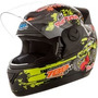 Capacete Evolution 788 4g Monster 58 Preto Protork Alta Q