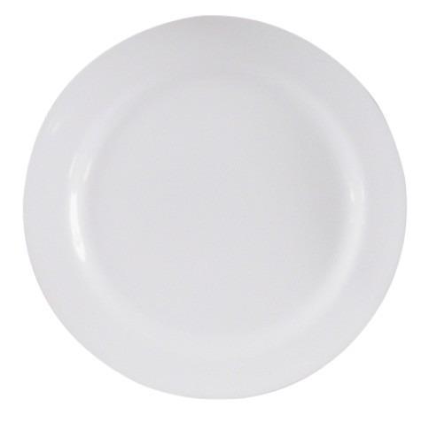 Prato Redondo 35 Cm - Buffet Melamina Branca 25 Prato