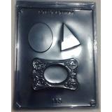 Forma-De-Acetato-Chocolate-Porta-Retrato-Moldura-Kit-10-Pcs