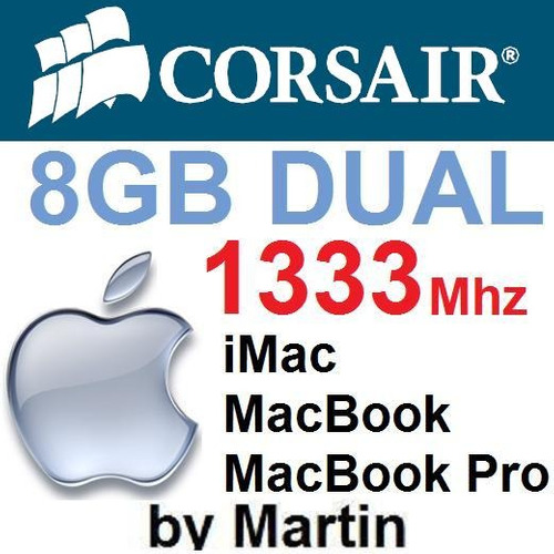 8gb Sodimm Corsair 1333 Apple Imac - Macbook / Macbook Pro