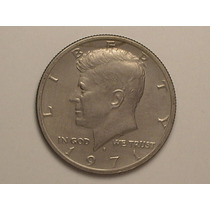 Usa) Half Dollar - 1971-d Kennedy (sob)