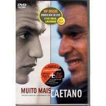 Caetano Veloso Dvd + Cd Muito Mais Caetano Edição Especial