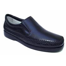 Sapato Social Couro Antistress Confort 24hrs Frete Gratis