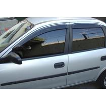 Calha De Chuva Corsa Hatch E Sedan 4 Portas 94/01 Tg Poli