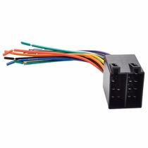 Conector Chicote Adaptador Iso Macho 16 Vias P/ Vw Gm Fiat