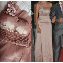 Vestido Longo De Festa /social /rosê