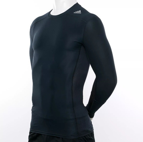 8e5f588fb4 Camisa De Compressão adidas Techfit Chill Ls Manga Longa - R  129 en ...