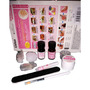 Kit Gel Lidan Luxo 11 Itens Manicure Profissional Acrigel