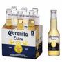 Cerveja Mexicana Corona Extra - Pack C/ 6 Un. 210ml