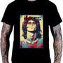Camiseta Camisa Poster Musica Show The Doors Jim Morrison Rock Roll H6 Original