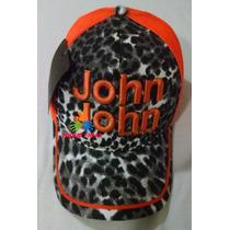 Boné Feminino John John De Oncinha Bordado