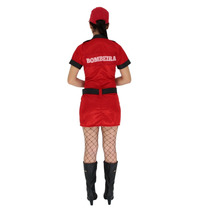 10cb33b41f Fantasia Bombeira Feminina Vestido Cosplay Adulto 36 Ao 48 à venda ...