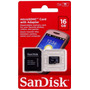 Cartão De Memória 16 Gb Para Smartphone, Tablet - Sandisk