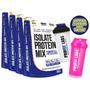 Kit 4x Whey Protein Isolado Isolate Mix Refil 900g   Brinde
