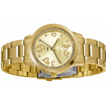 Relógio Lince Feminino Dourado (orient) Lrg4274l Prova Dágua