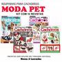 10 Revistas Moda Pet Roupinha Cachorro Caes Molde Costura