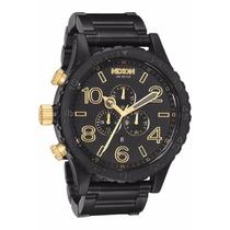 Relógio Nixon 51-30 Chrono Preto Dourado (sedex Gratis)