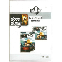 Dvd + Cd O Rappa Acústico Mtv Dose Dupla Vip * Frete Zero *