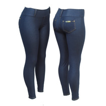 Calça Legging Cotton Jeans