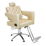 Poltrona Cadeira Reclinável Móveis Para Maquiagem E Barbeiro