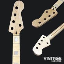 Braço De Baixo 5 Cordas Jazz Bass Maple Madre Pérola Skunk