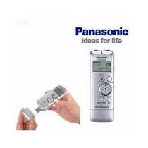 Gravador De Voz Panasonic Rr-us300 C/ 2gb, Mp3, Usb