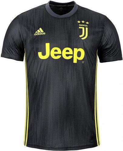 Camisa Juventus - Uniforme 3 - 2018   2019 - Frete Grátis. R  125 656f5c1a46045