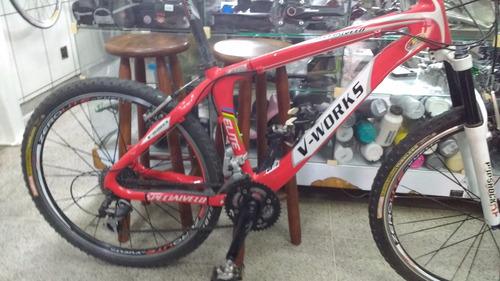 ea9bba35f Bike V- Works 26 Vicini Quadro De Carbono Tamanho 16