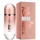 212 Vip Rose 125ml Eau De Parfum 100% Original Selado