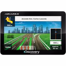 Gps Discovery Channel Slim Tela 5.0 - Tv Digital, Mp3 E Mp4