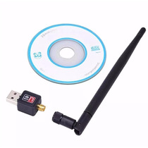Adaptador Receptor Wireless Usb Wifi 600mbps Pc Notebook T22