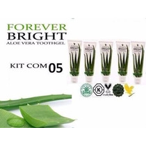 Kit Com 05 Creme Dental Forever Bright Pasta De Dente