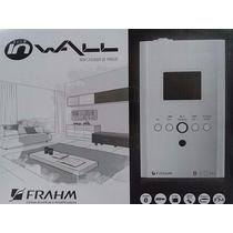 Frahm Slim In Wall Usb+fm Amplificador Parede Som Ambiente