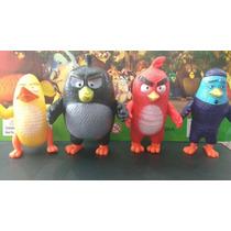 Kit 4 Personagens Angry Birds Movie Bonecos Do Filme Com Luz