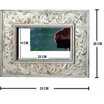Moldura Com Espelho - Ornato Rústico - 35x26 Cm - 50% Off!!!