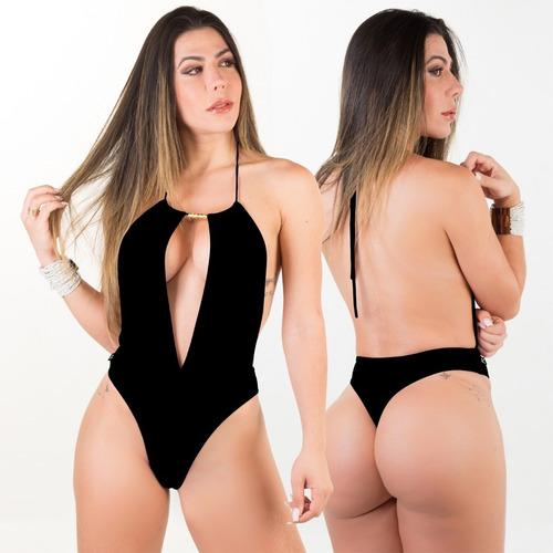 e7ec785f2d8bba Maiô Fio Dental Frente Única Bikinis Anna Carol Sexy-line-13 à venda ...