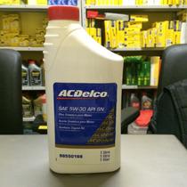 Óleo Acdelco 5w-30 Sn Sintetico Recomendado Gm/chevrolet