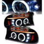 Par De Farol Projector Angel Eyes Led Dodge Dakota 97/04