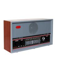 Radio Vintage Madeira Mogno 9 Faixas + Ondas Curtas Crmif-91