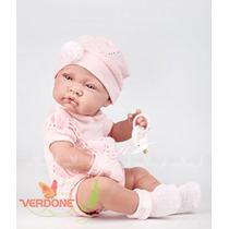 Boneco Bebe Realista Tipo Reborn Menina