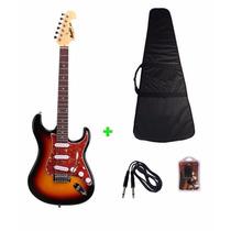 Guitarra Memphis By Tagima Mg32 - Capa - Afinador E Cabo