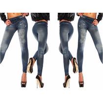 Calça Legging Estilo Jeans Leguy Leg